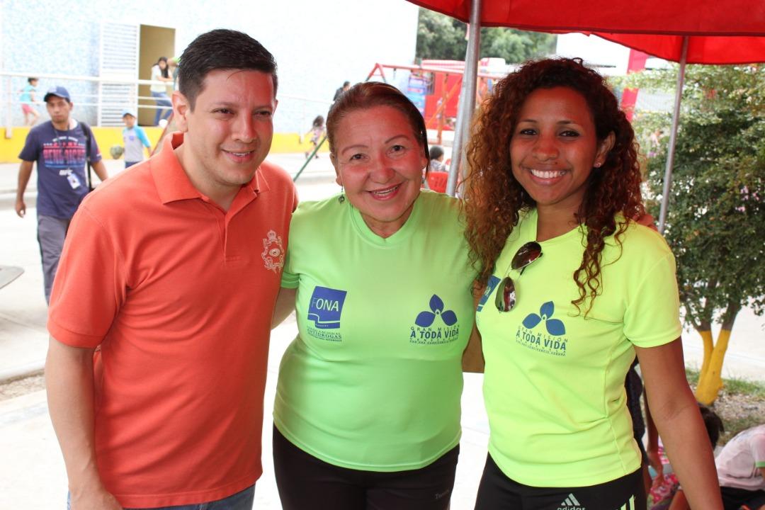 """Frente Preventivo realizó """"Toma por la Paz y la Vida"""" en Urbanismos de la parroquia El Recreo (1)"""