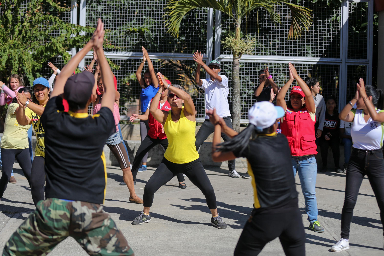 Jóvenes de Los Teques disfrutaron del Festival por la Paz (4)