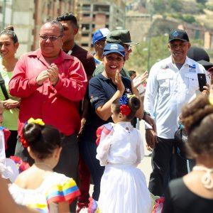 Más de 17 mil personas en Ciudad Tiuna participaron en gran toma deportiva por la paz y la vida (6)
