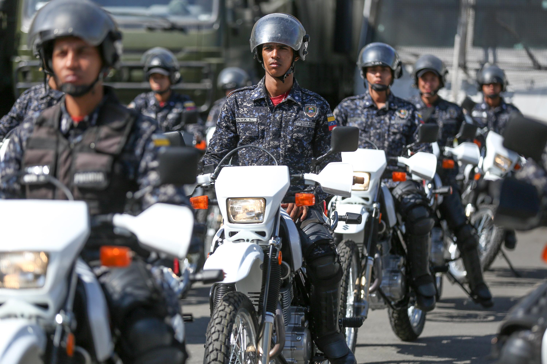 Mpprijp entregó 100 motos para fortalecer órganos de seguridad del Distrito Capital (1)