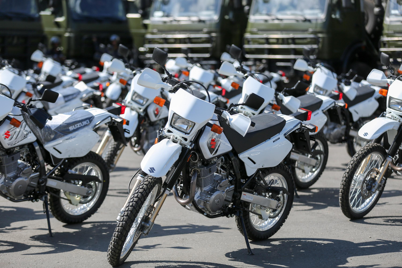 Mpprijp entregó 100 motos para fortalecer órganos de seguridad del Distrito Capital (3)