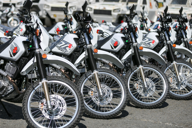 Mpprijp entregó 100 motos para fortalecer órganos de seguridad del Distrito Capital (5)