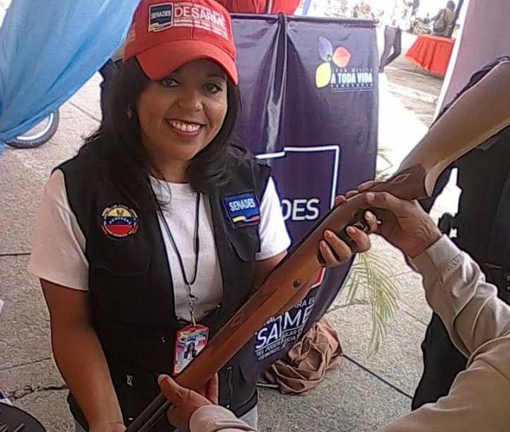 Venezuela conmemora el Día Suramericano del Desarme Voluntario