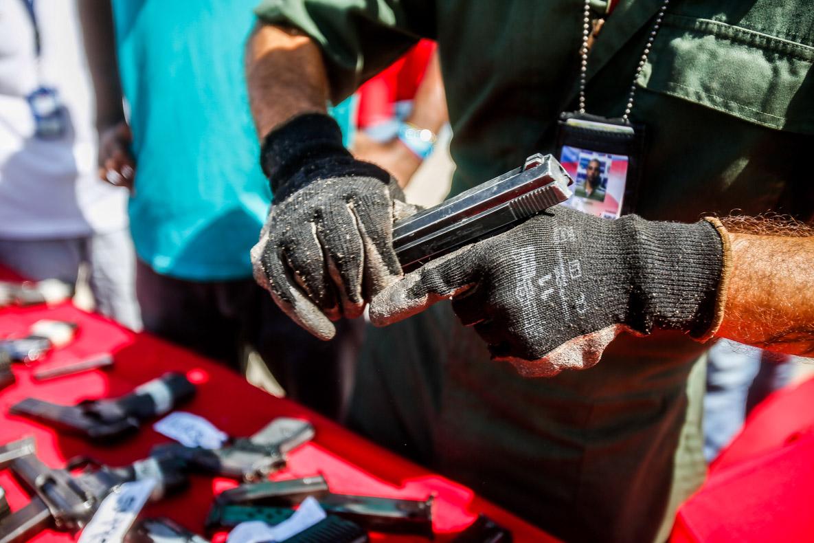 Senades realizó el primer acto de inutilización de armas de fuego del 2019 en Vargas (14)