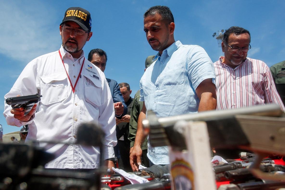 Senades realizó el primer acto de inutilización de armas de fuego del 2019 en Vargas (15)
