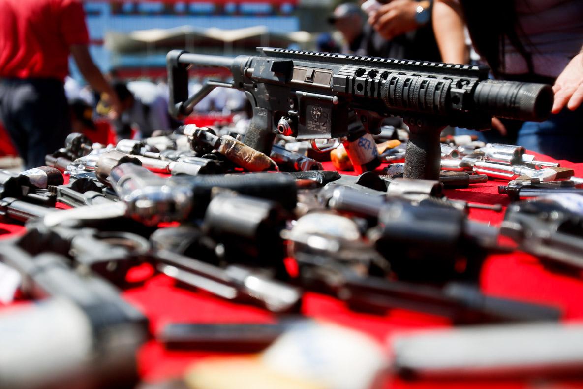 Senades realizó el primer acto de inutilización de armas de fuego del 2019 en Vargas (2)