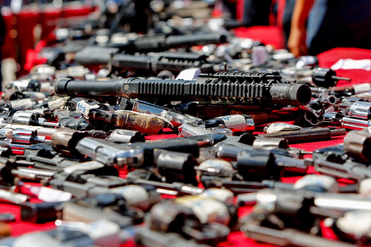 Senades realizó el primer acto de inutilización de armas de fuego del 2019 en Vargas (3)