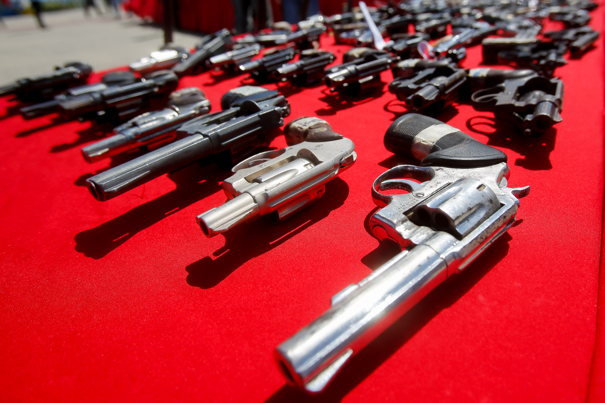 Senades realizó el primer acto de inutilización de armas de fuego del 2019 en Vargas (4)