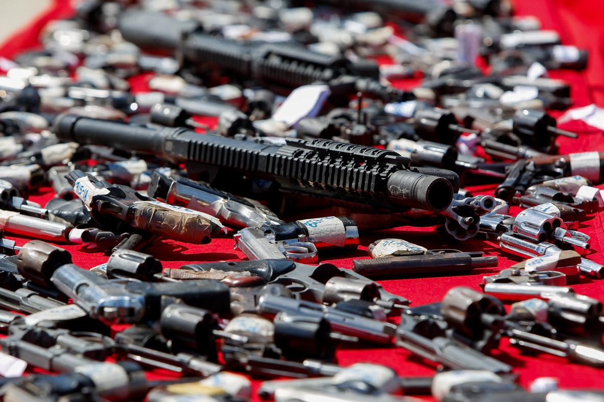 Senades realizó el primer acto de inutilización de armas de fuego del 2019 en Vargas (5)