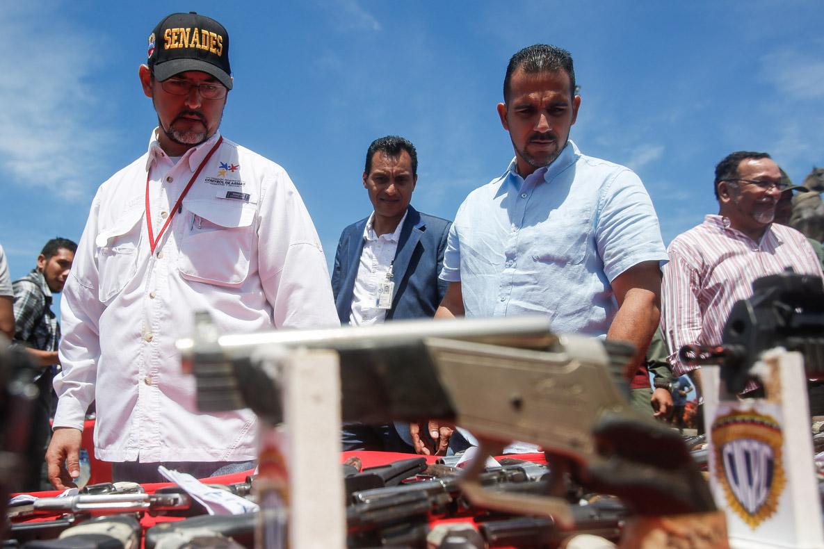 Senades realizó el primer acto de inutilización de armas de fuego del 2019 en Vargas (7)