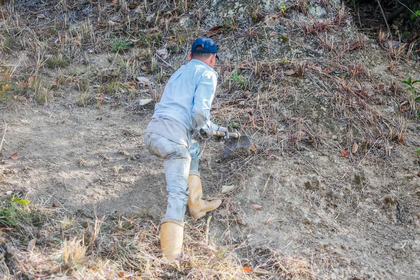 Trabajos de mantenimiento del sistema de cortafuegos en el Waraira Repano (5)