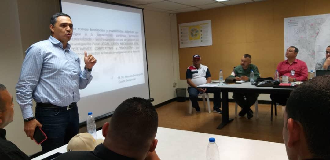 Visiip y Pdvsa potencian la Investigación Penal de Materiales Estratégicos (3)