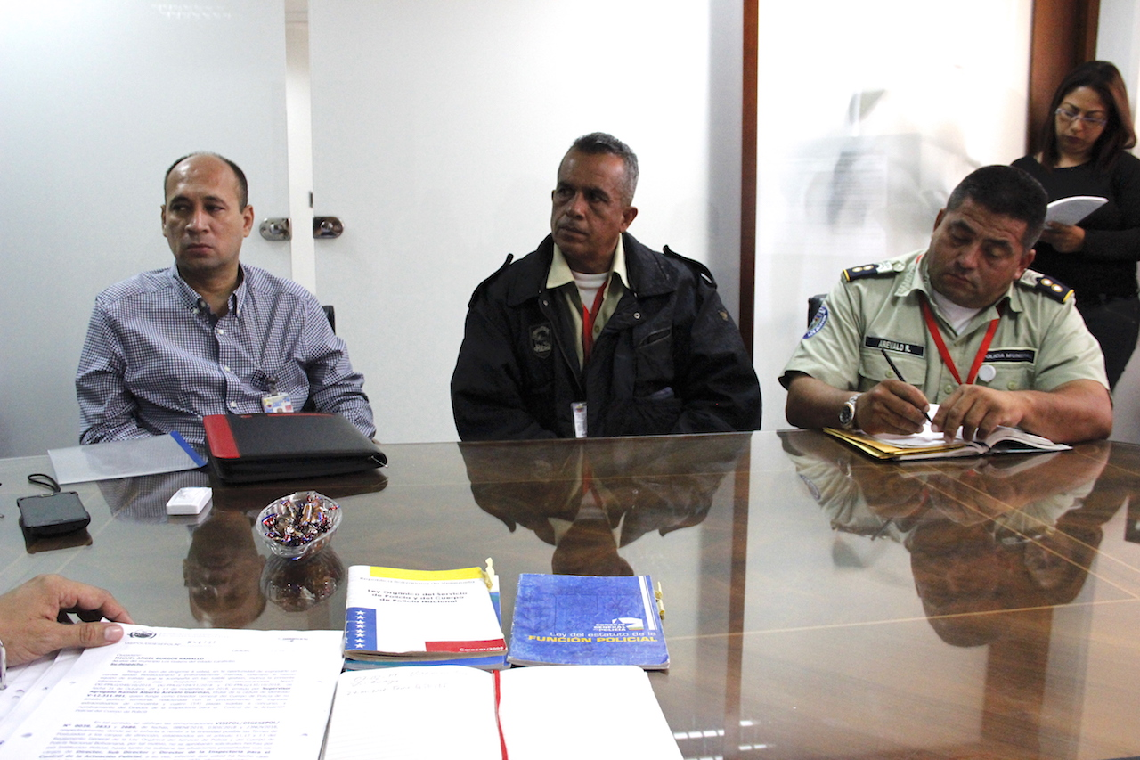 Visipol supervisó Policía de Los Guayos para corregir irregularidades (7)