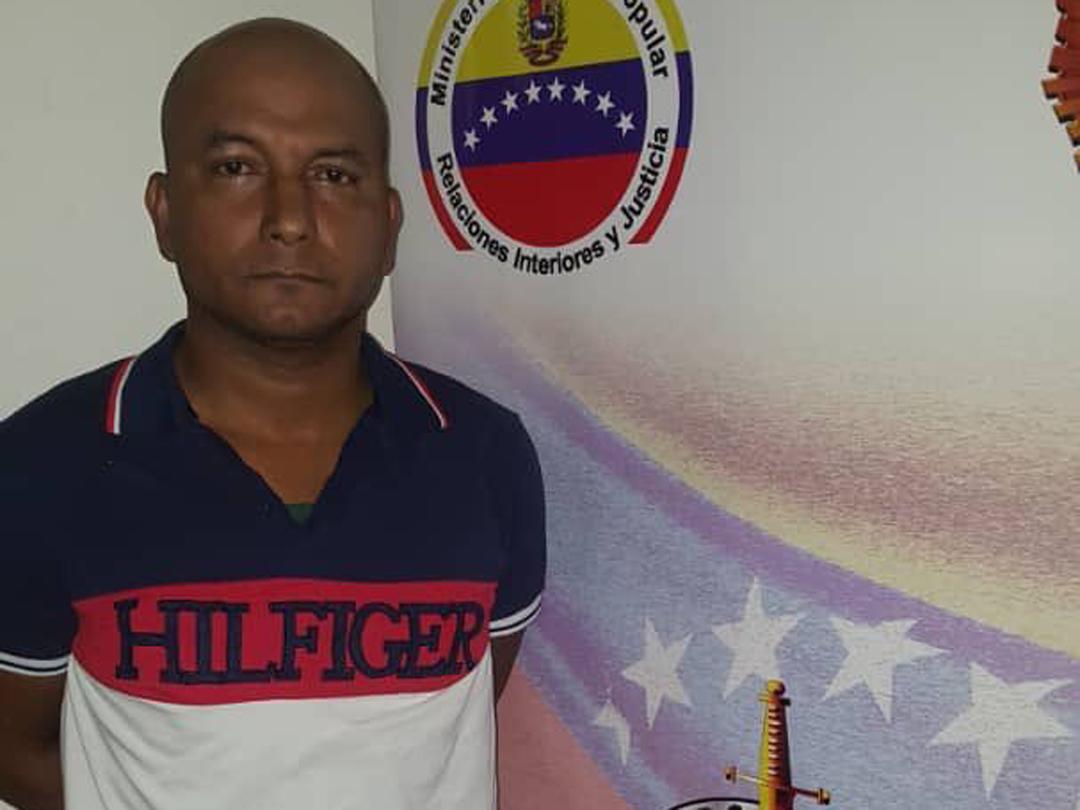 Reverol confirma captura de Wilfrido Torres jefe paramilitar y miembro de célula terrorista
