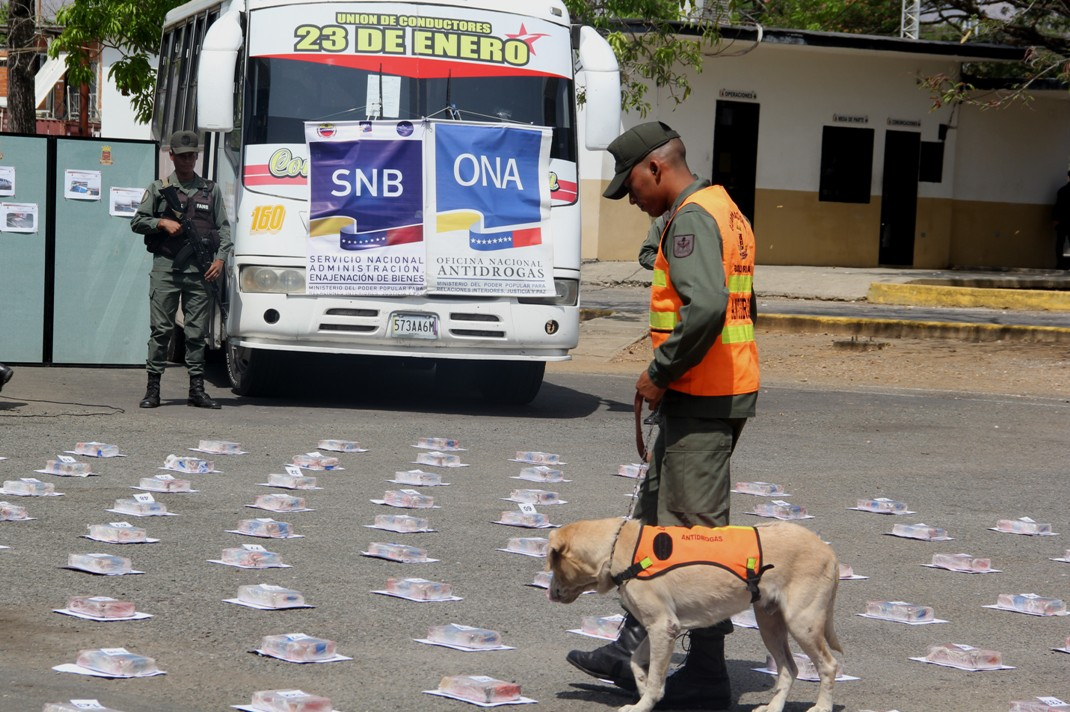En 254% aumentan incautaciones de drogas en Guárico durante los primeros meses del año