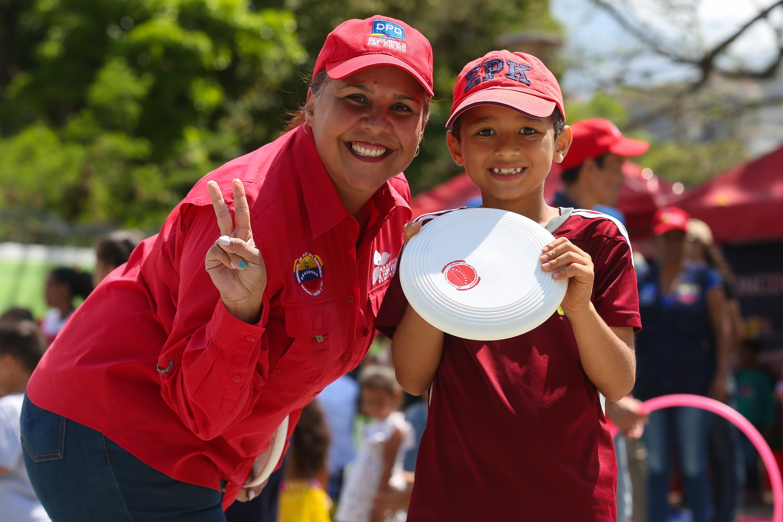 Frente Preventivo realizó actividades recreativas a más de 30 mil jóvenes en Miranda (7)