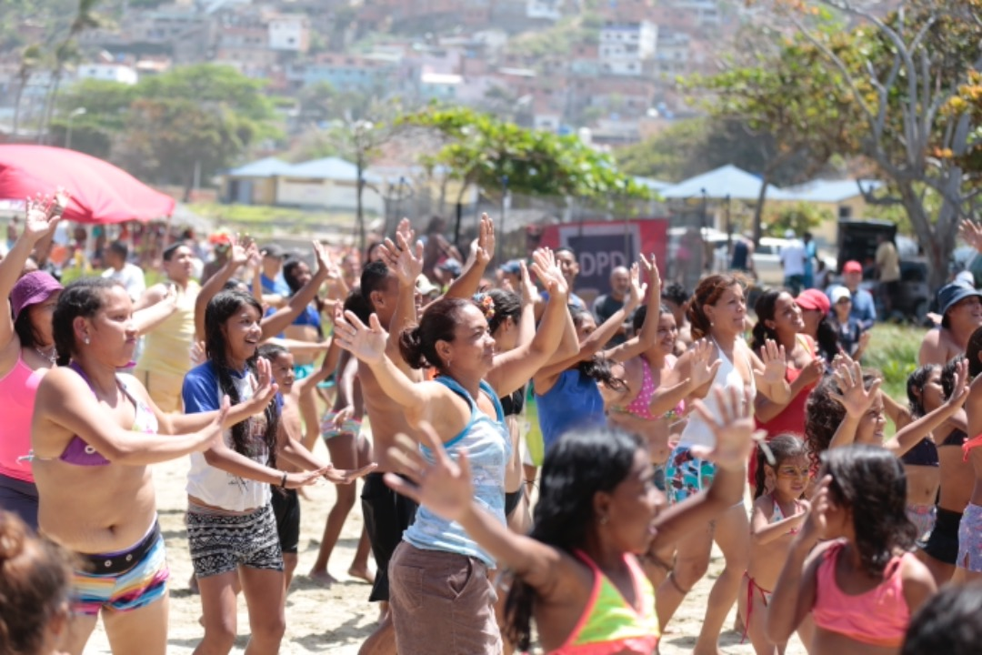 Pueblo disfruta junto al Frente Preventivo de los carnavales 2019