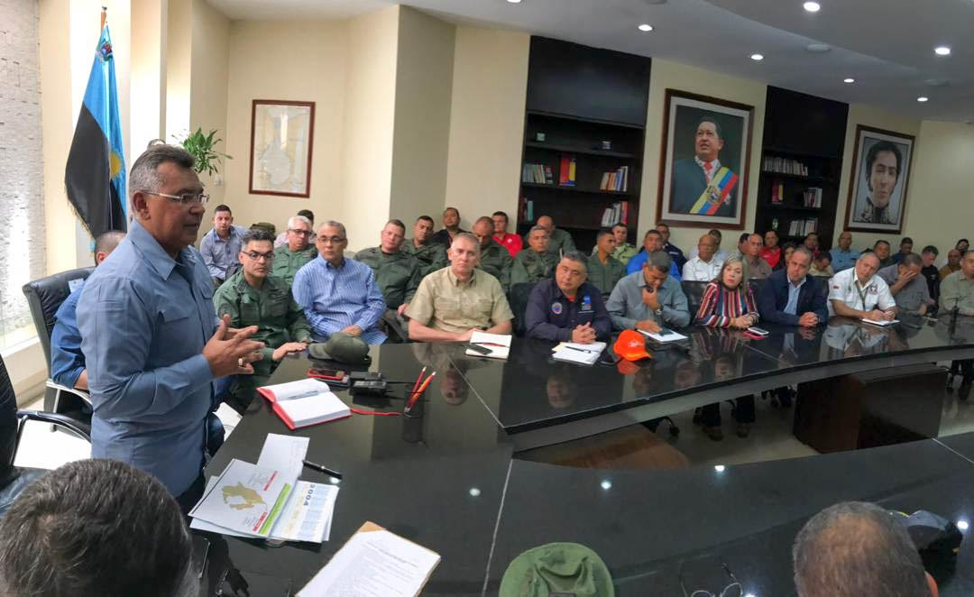 Ministro Reverol supervisó despacho de energía para el estado Zulia