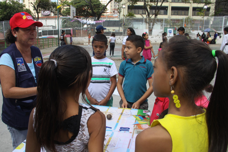 Niños de Petare disfrutan de festival Carnavales en Paz y Alegría 2019 (4)