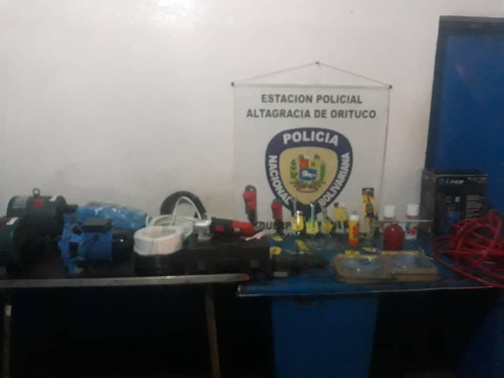 PNB desarticuló banda delictiva Los Ferreteros en Guárico
