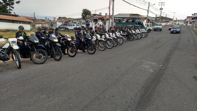 100 funcionarios de seguridad desplegados en municipio Cárdenas de Táchira