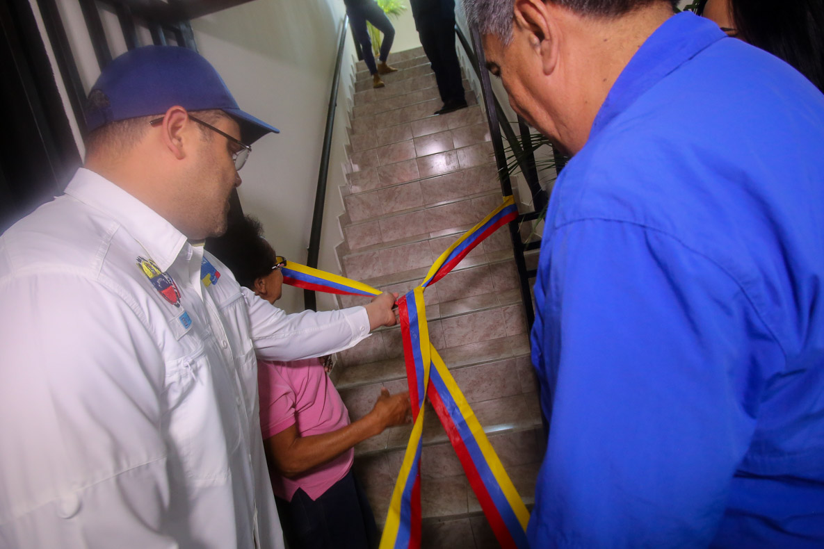 Saren inaugura en Caricuao nueva sede de la Notaría Pública Cuadragésima de Caracas