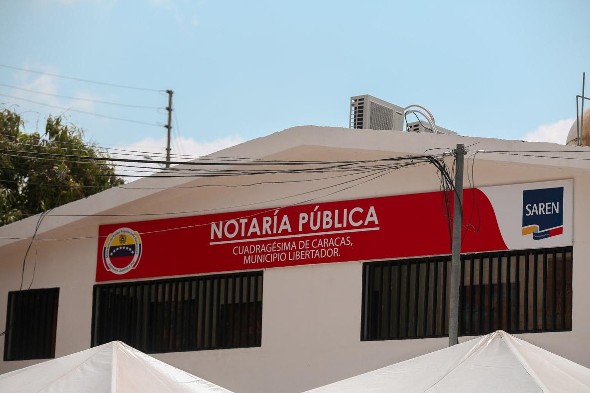 Saren inaugura en Caricuao nueva sede de la Notaría Pública Cuadragésima de Caracas (9)