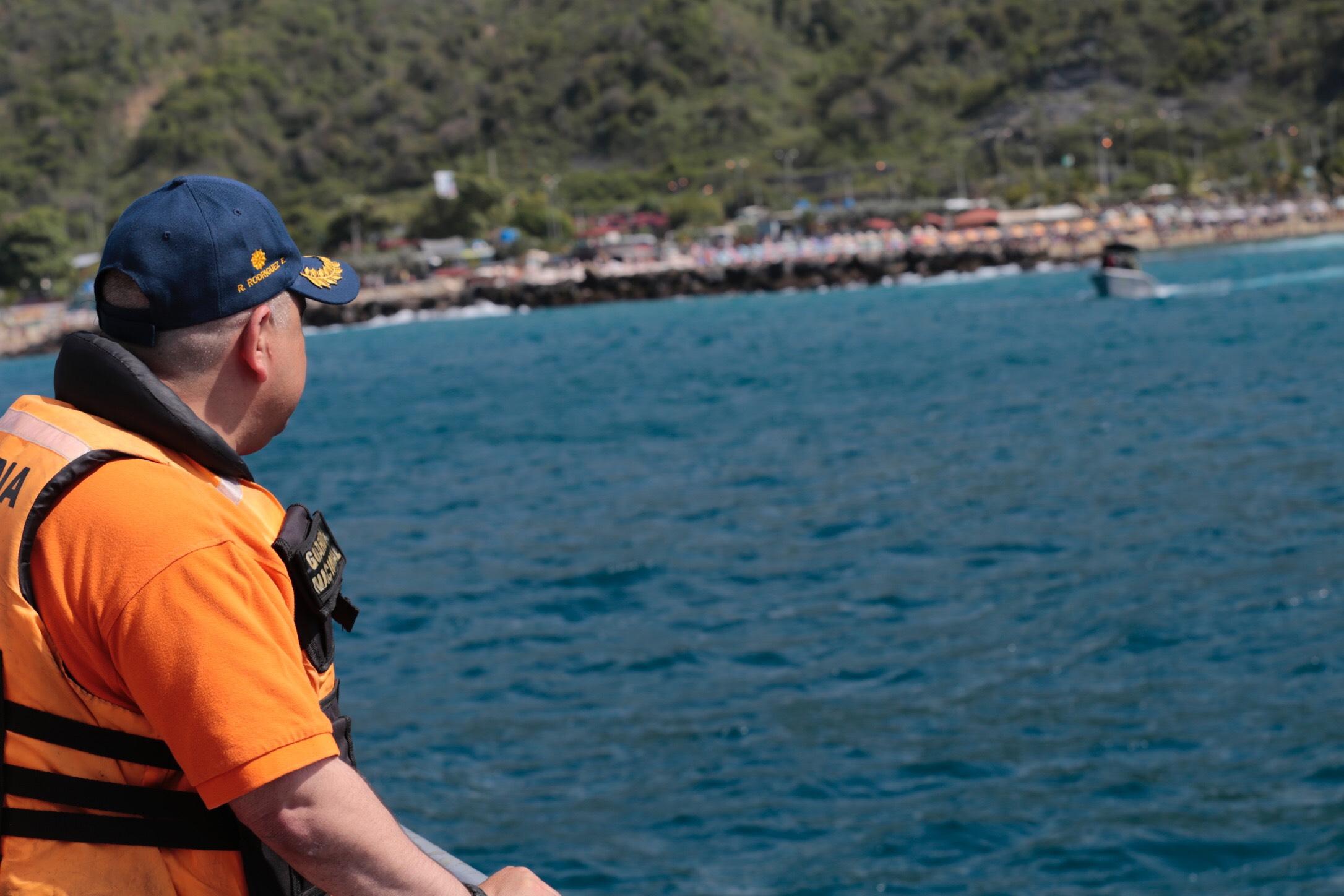 Sistema Nacional de Gestión de Riesgo supervisa despliegue de seguridad en 63 playas de Vargas (4)