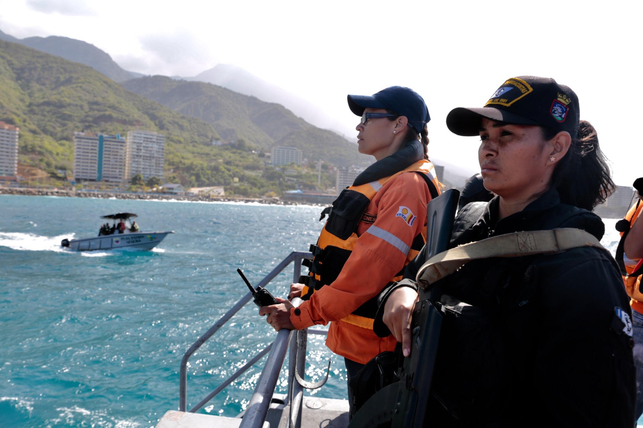 Sistema Nacional de Gestión de Riesgo supervisa despliegue de seguridad en 63 playas de Vargas (7)