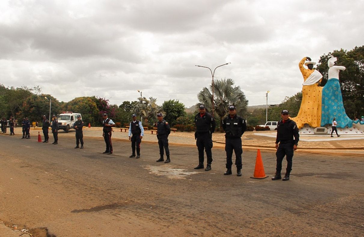 Supervisión Carnavales plaza de las Madamas, Municipio El Callao edo. Bolivar (1)