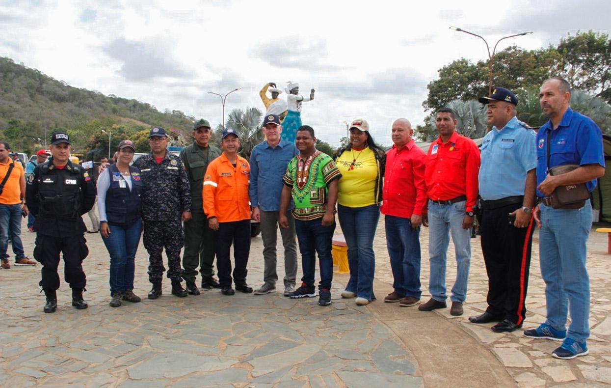 Supervisión Carnavales plaza de las Madamas, Municipio El Callao edo. Bolivar (2)