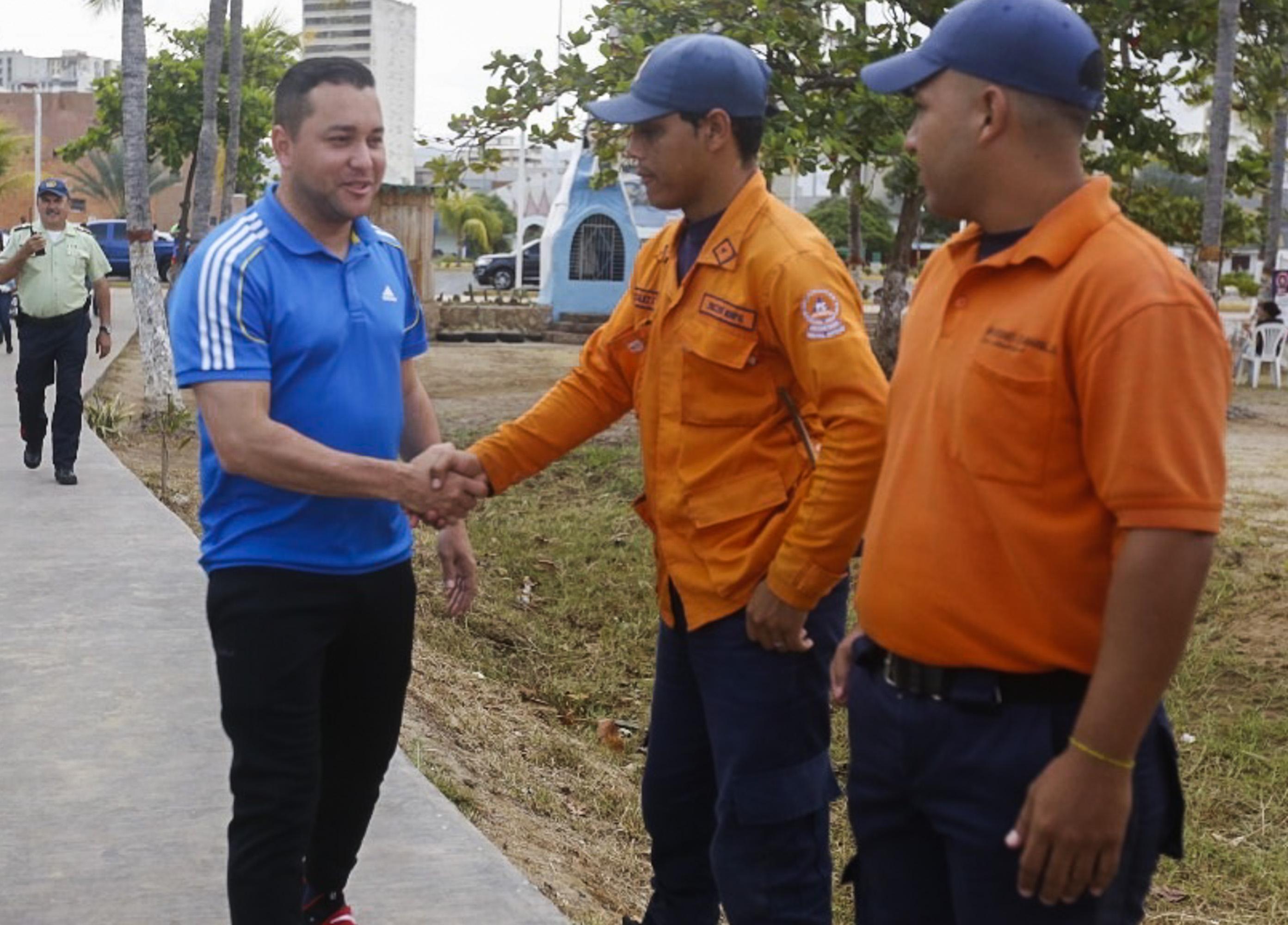 Viceministro Coello supervisó Dispositivo Carnavales Seguros 2019 en Anzoátegui (1)