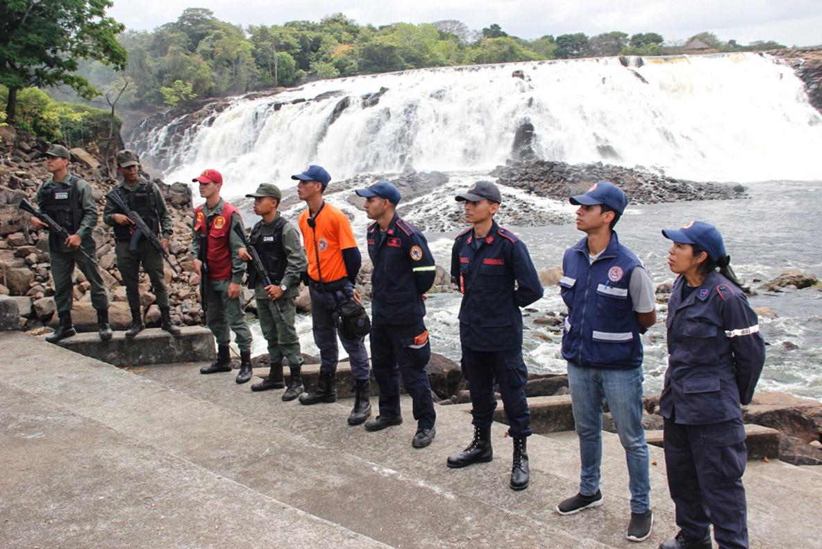 Viceministro GD Edylberto Molina Supervisión Carnavales en el Parque La Llovizna Ciudad Bolivar (13)