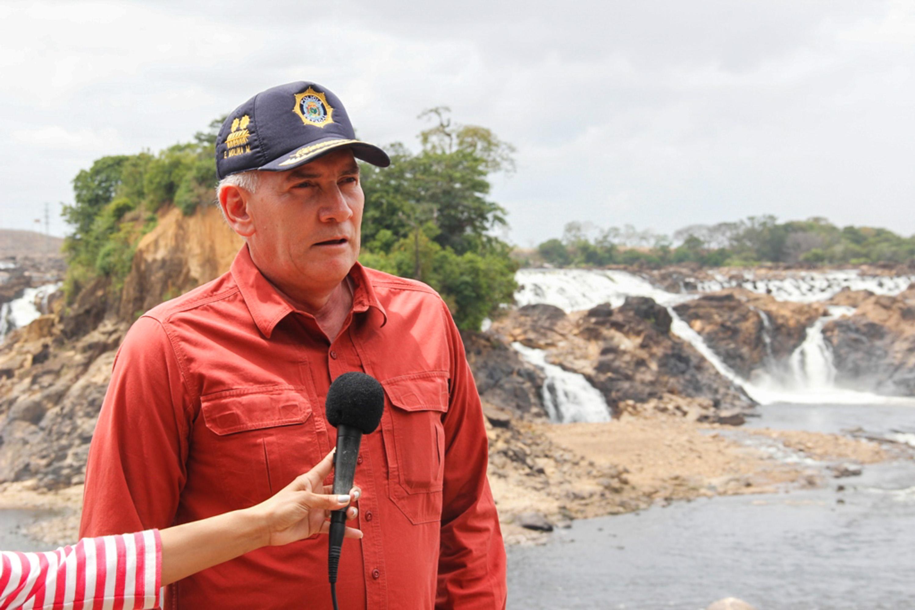 Viceministro GD Edylberto Molina Supervisión Carnavales en el Parque La Llovizna Ciudad Bolivar (7)