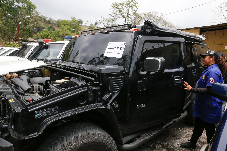 15 vehículos fueron recuperados en despliegue del Cicpc en la carretera Petare-Santa Lucia (5)