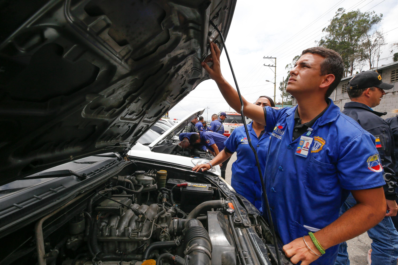 15 vehículos fueron recuperados en despliegue del Cicpc en la carretera Petare-Santa Lucia (7)