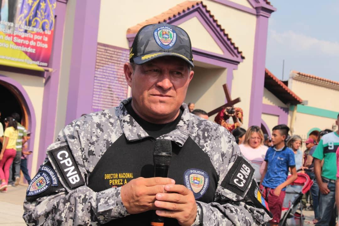 Comandante General del Cuerpo de Policía Nacional Bolivariana (Cpnb), GD Carlos Pérez Ampueda (3)