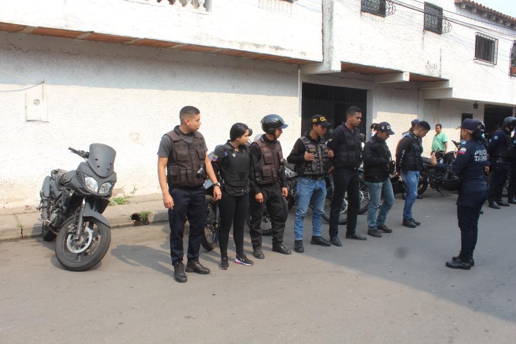 Desplegados 80 funcionarios de seguridad en Táchira este fin de semana (2)