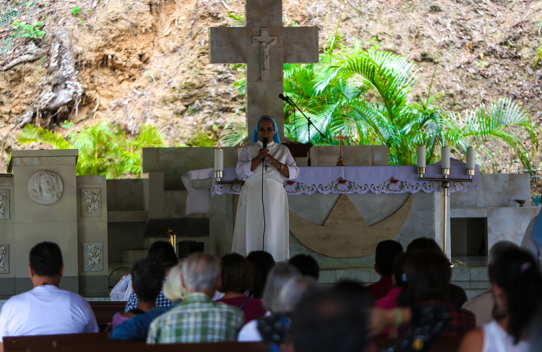 Feligreses del Santuario de Betania disfrutaron de actividades preventivas del Mpprijp (6)