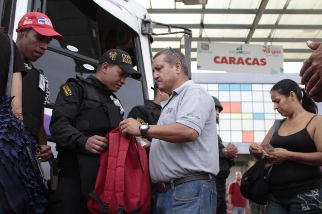 Frente Preventivo se desplegó en terminales de pasajeros a nivel nacional (18)