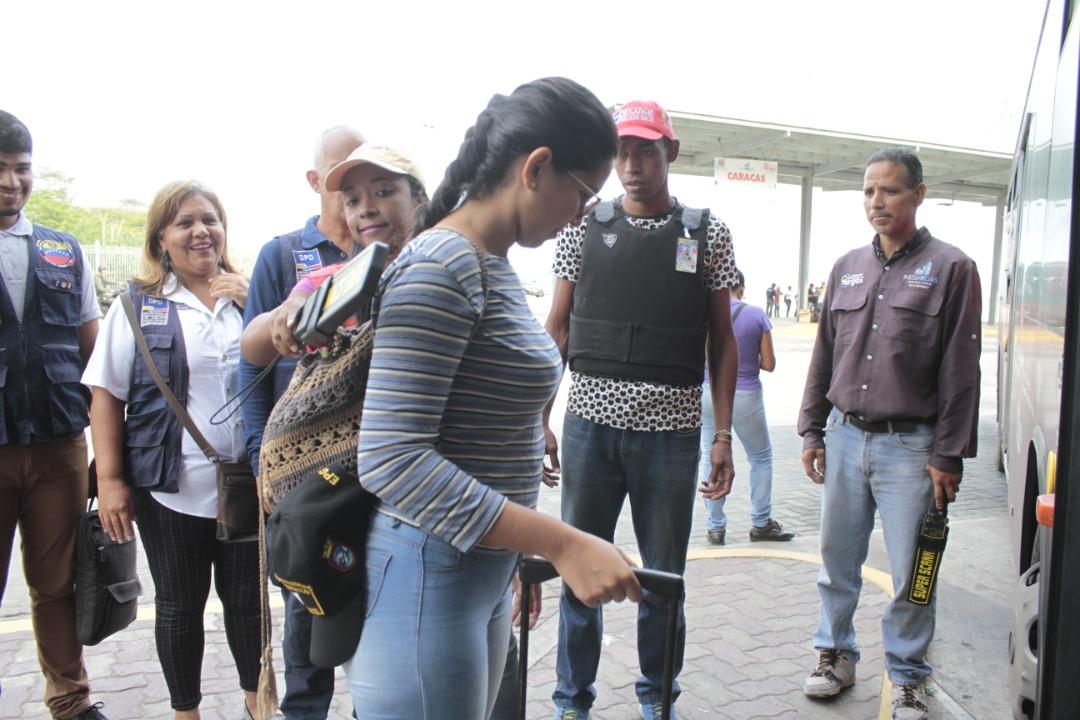 Frente Preventivo se desplegó en terminales de pasajeros a nivel nacional (24)