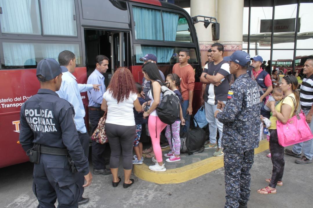 Frente Preventivo se desplegó en terminales de pasajeros a nivel nacional (25)