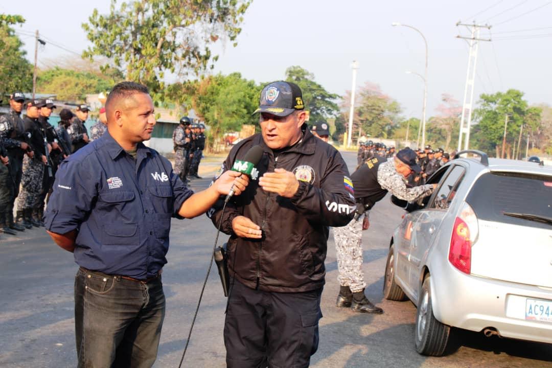 Funcionarios de la PNB participan en Dispositivo Semana Santa Segura en Apure (6)