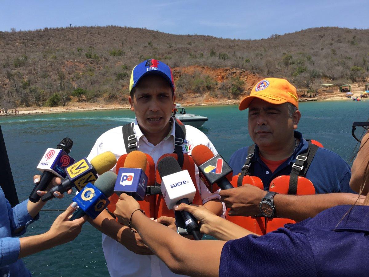 Gobernador del estado Sucre, Edwin Rojas