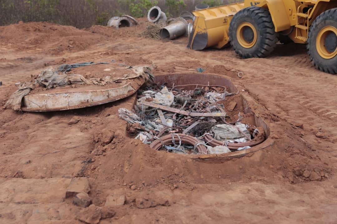 Incautadas más de mil toneladas de material estratégico sustraído del SEN en Bolívar (10)