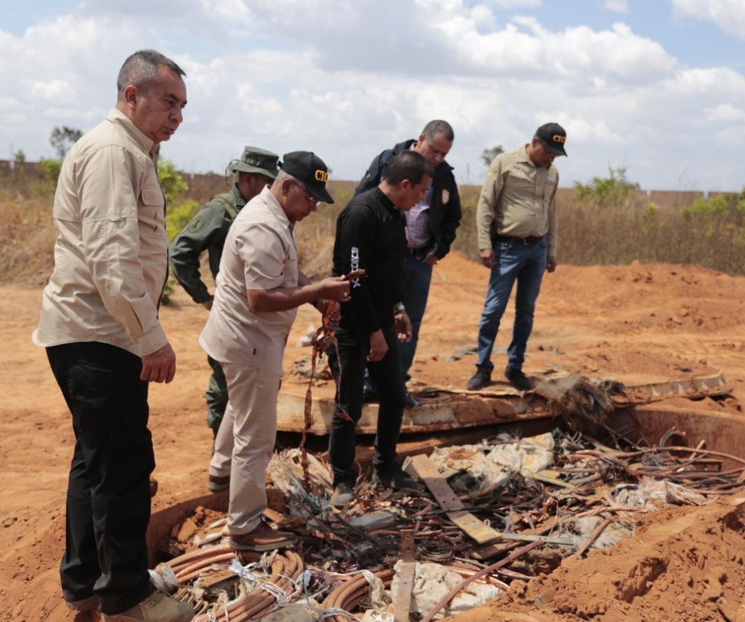 Incautadas más de mil toneladas de material estratégico sustraído del SEN en Bolívar (11)