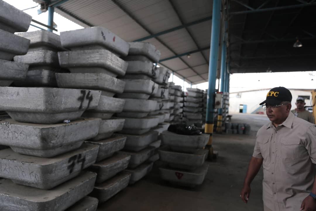 Incautadas más de mil toneladas de material estratégico sustraído del SEN en Bolívar (12)