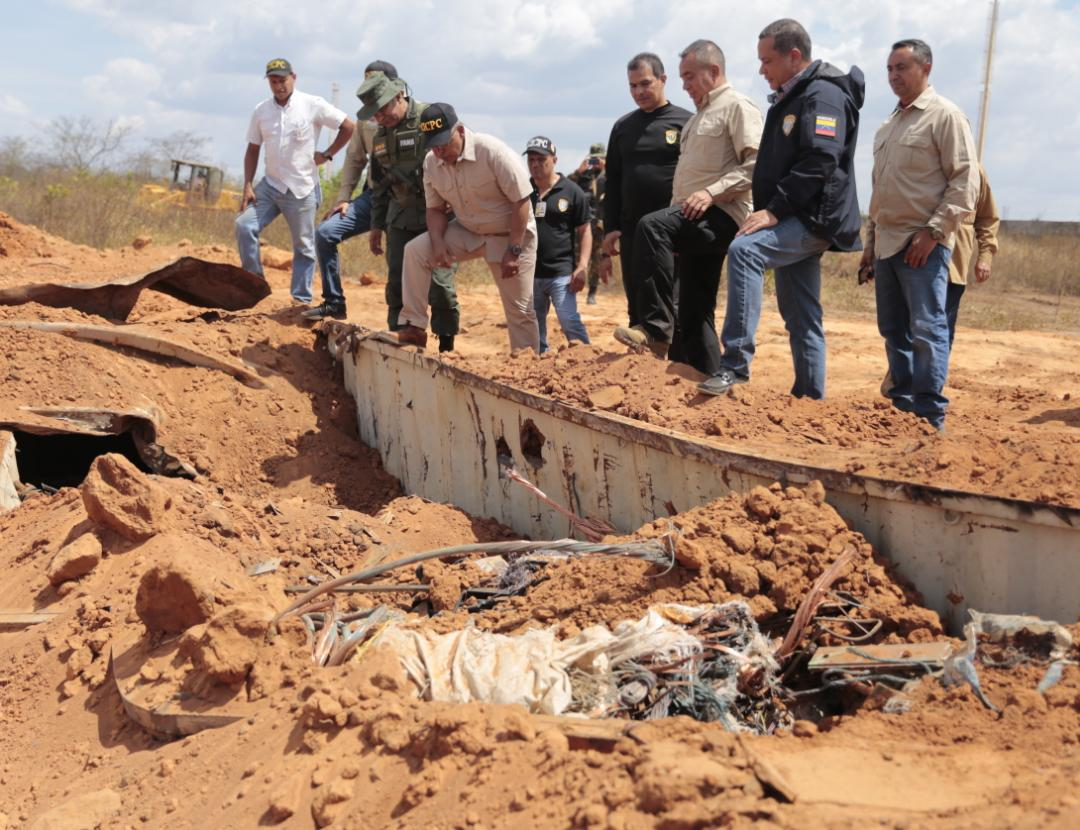Incautadas más de mil toneladas de material estratégico sustraído del SEN en Bolívar (13)