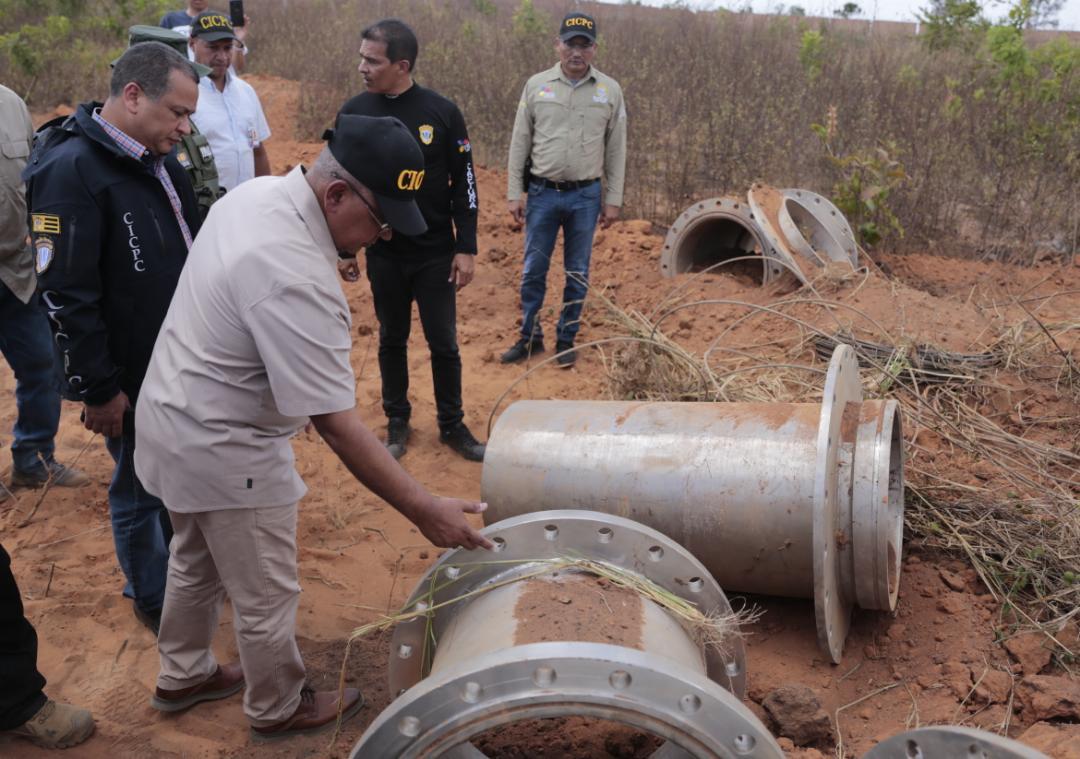 Incautadas más de mil toneladas de material estratégico sustraído del SEN en Bolívar (15)
