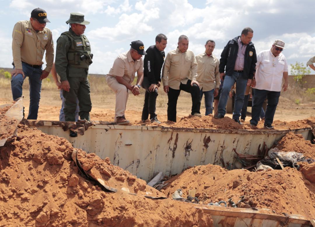 Incautadas más de mil toneladas de material estratégico sustraído del SEN en Bolívar (16)